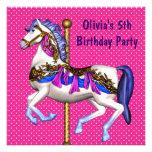 5ta fiesta de cumpleaños del carrusel de los chica anuncios personalizados