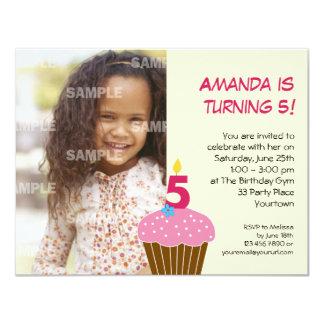 5ta invitación de la fiesta de cumpleaños de la