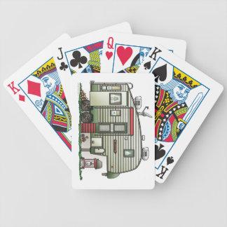 5ta rueda de alta tecnología baraja cartas de poker