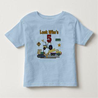 5tas camisetas y regalos del cumpleaños de la