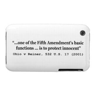 5th Amendment Ohio v Reiner 532 U S 17 2001 iPhone 3 Covers