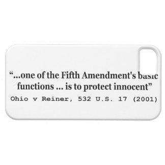 5th Amendment Ohio v Reiner 532 U S 17 2001 iPhone 5 Cases