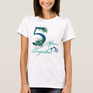 5th anniversary / 5 / 5th / number 5 T-Shirt