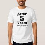 5th Anniversary (Funny) T-Shirt