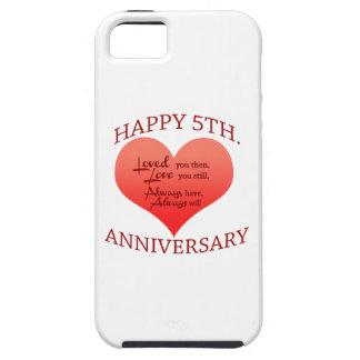 5th. Anniversary iPhone SE/5/5s Case