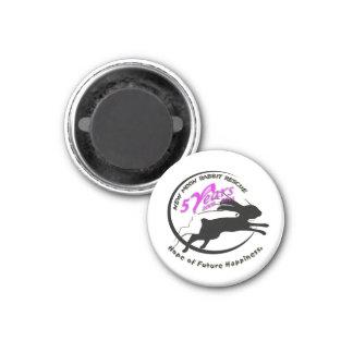 5th Anniversary Logo 1 Inch Round Magnet