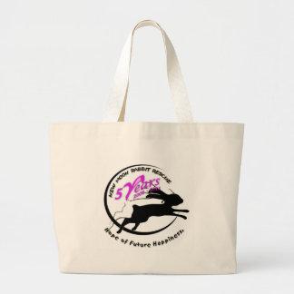 5th Anniversary Logo Canvas Bags
