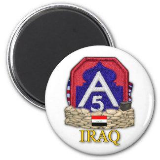 5th army iraq war korea veterans vets Magnet