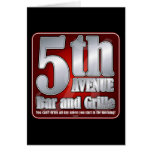 5th Avenue Bar and Grille Greeting Cards