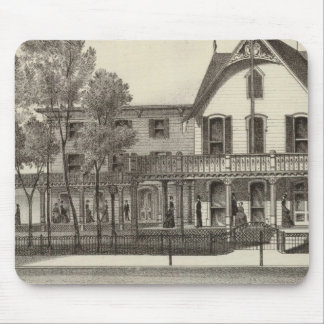 5th Avenue House, Ocean Beach, NJ Mouse Pad