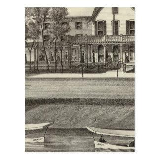 5th Avenue House, Ocean Beach, NJ Postcard