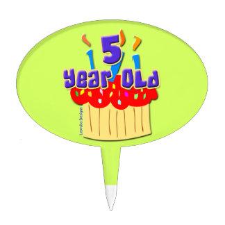 5th Birthday Cake Pick