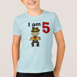 5th birthday cowboy gift T-Shirt