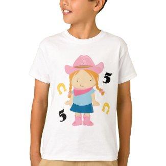 5th Birthday Cowgirl