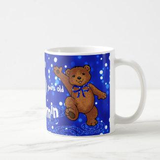5th Birthday Dancing Teddy Bear Mugs