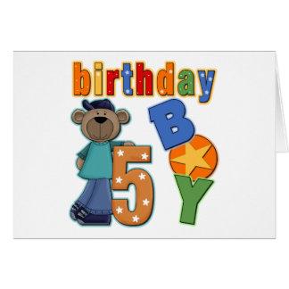 5th Birthday Gift Card