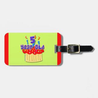 5th Birthday Luggage Tags