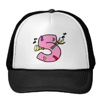 5th Birthday Party Gifts Trucker Hat