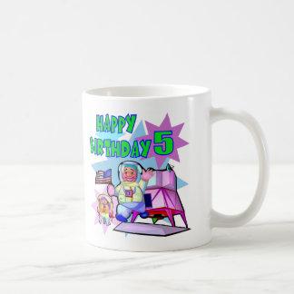 5th Birthday Space Birthday Coffee Mug