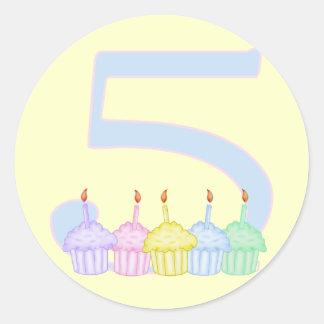 5th Birthday Stickers