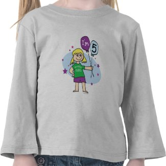 5th Birthday T-shirt shirt