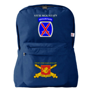 5TH BN 25TH FIELD ARTY 10TH MOUNTAIN BACKPACK