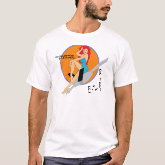 5th Bomb Wing EZ Ryder - Nose Art T-Shirt