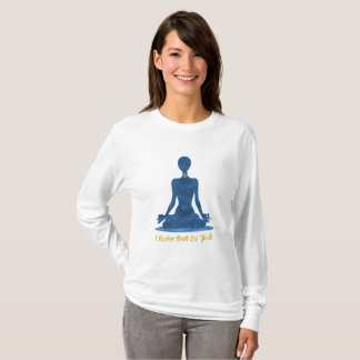 5th Chakra Throat Vishuddha Blue Affirmation T-Shirt