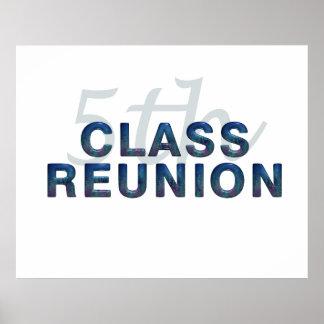 5th Class Reunion Poster