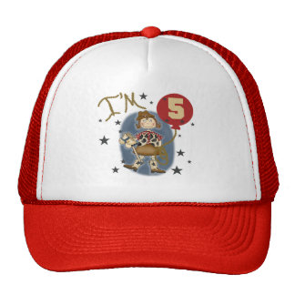5th Cowgirl Birthday Tshirts and Gifts Trucker Hat