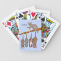 5th Day of Christmas (5 Gold Rings) Playing Cards