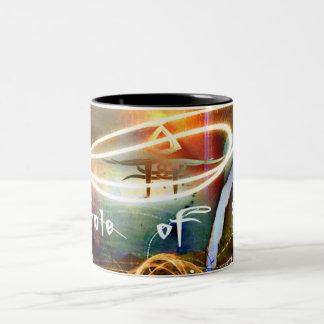 5th Dimension Fire Mug2 Black Two-Tone Coffee Mug