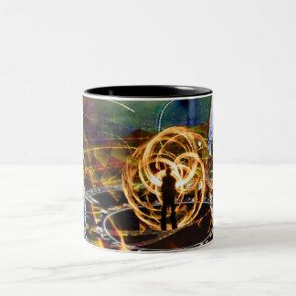 5th Dimension Fire Mug Black