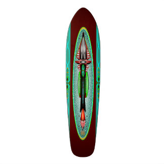 5th Dimension Rocket Skateboard Deck