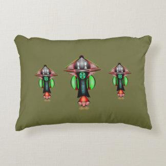 "5th Dimension Space Shuttle Cotton Pillow 12""x16"""