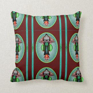 5th Dimension Space Shuttle Cotton Throw Pillows