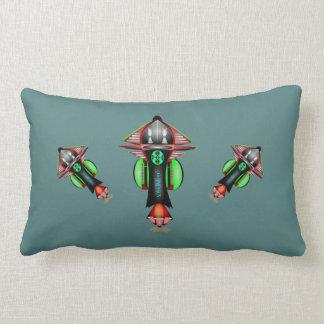 5th Dimension Space Shuttle Lumbar Cotton Pillow