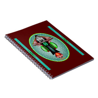 5th Dimension Space Shuttle Notebook