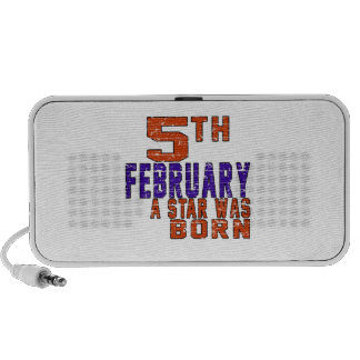 5th February a star was born Notebook Speakers