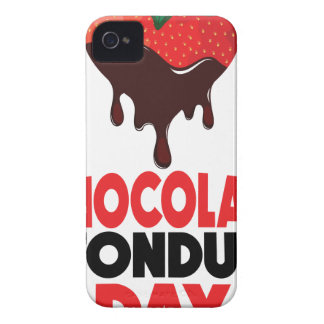 5th February - Chocolate Fondue Day iPhone 4 Cover