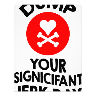 5th February - Dump Your Significant Jerk Day Letterhead