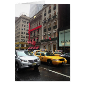 5th Fifth Avenue New York City NYC Christmas Cards