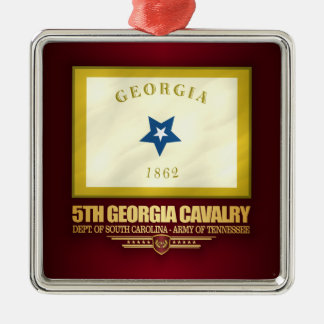 5th Georgia Cavalry Metal Ornament