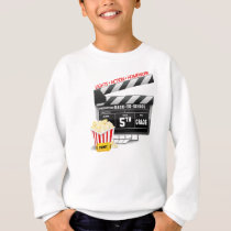 5th Grade Movie Clapboard Sweatshirt