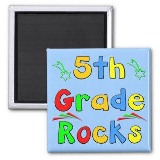 5th Grade Rocks Magnet