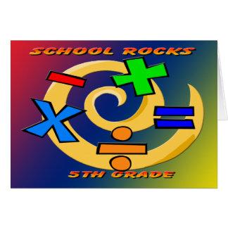 5th Grade Rocks - Math Symbols Cards