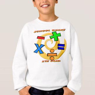 5th Grade Rocks - Math Symbols Sweatshirt