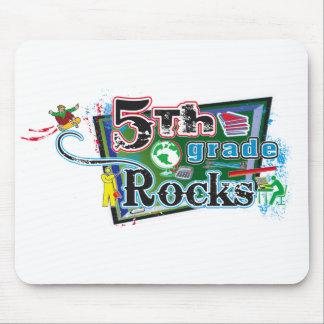 5th Grade Rocks Mousepad