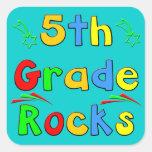 5th Grade Rocks Sticker