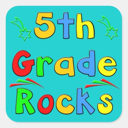 5th grade rocks